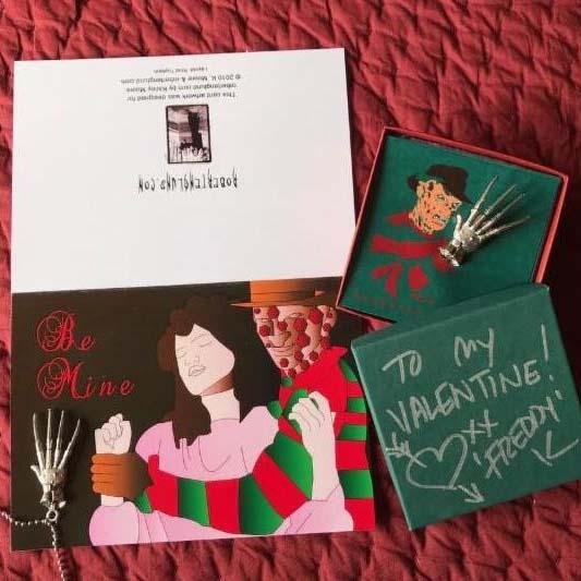 Robert Englund Valentines Classic Card Set