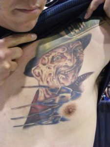 Robert Englund Tattoo Archive 007