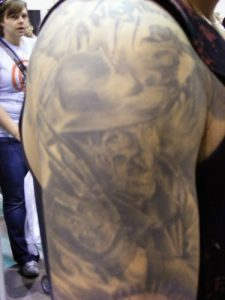 Robert Englund Tattoo Archive 009