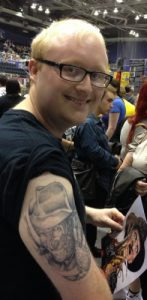 Robert Englund Tattoo Archive 035