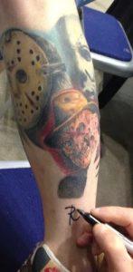 Robert Englund Tattoo Archive 037