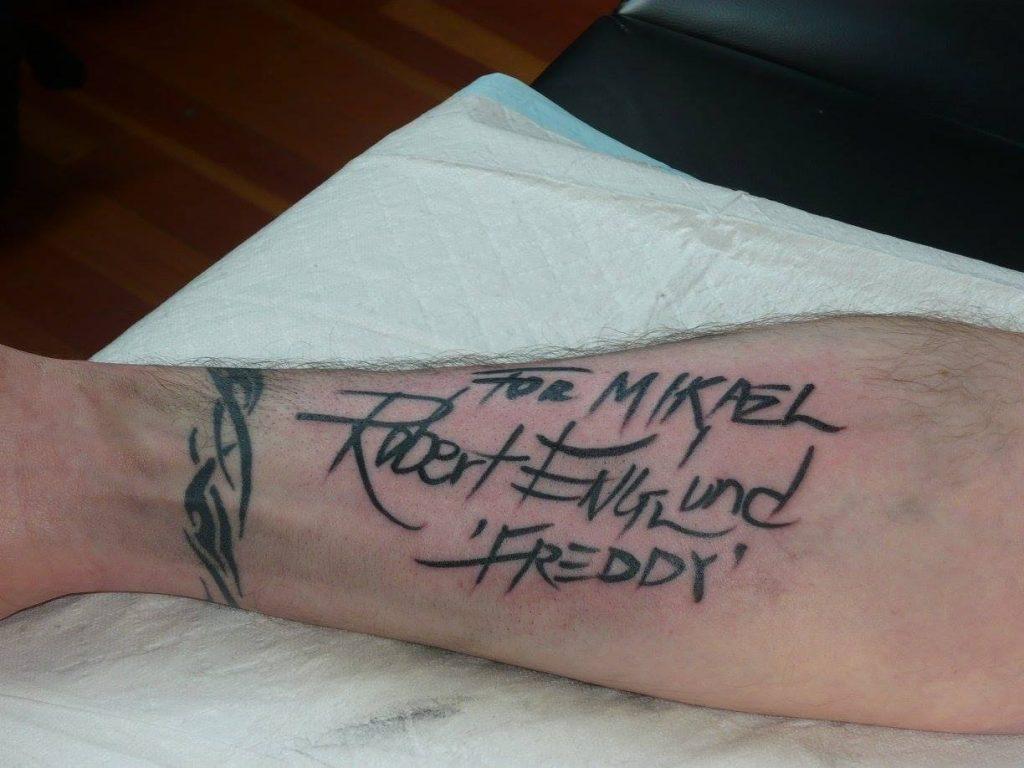 Robert Englund Tattoo Archive 054