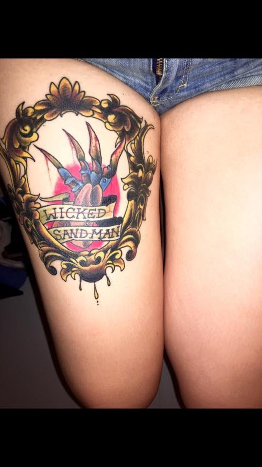 Robert Englund Tattoo Archive 055