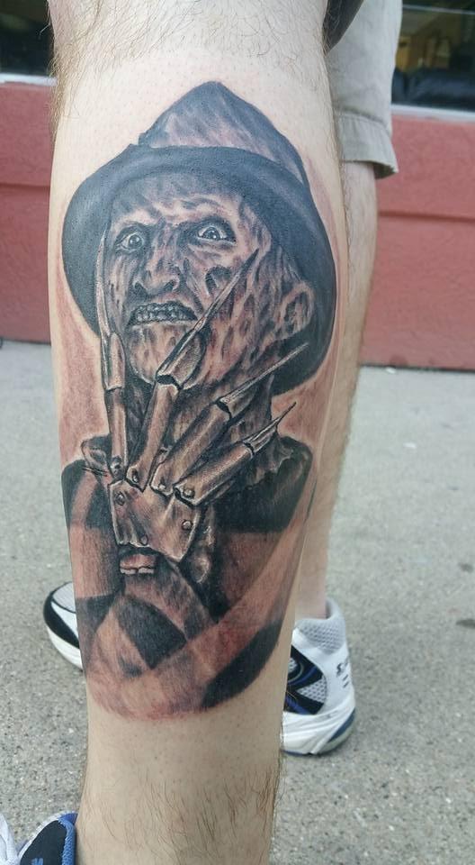 Robert Englund Tattoo Archive 056