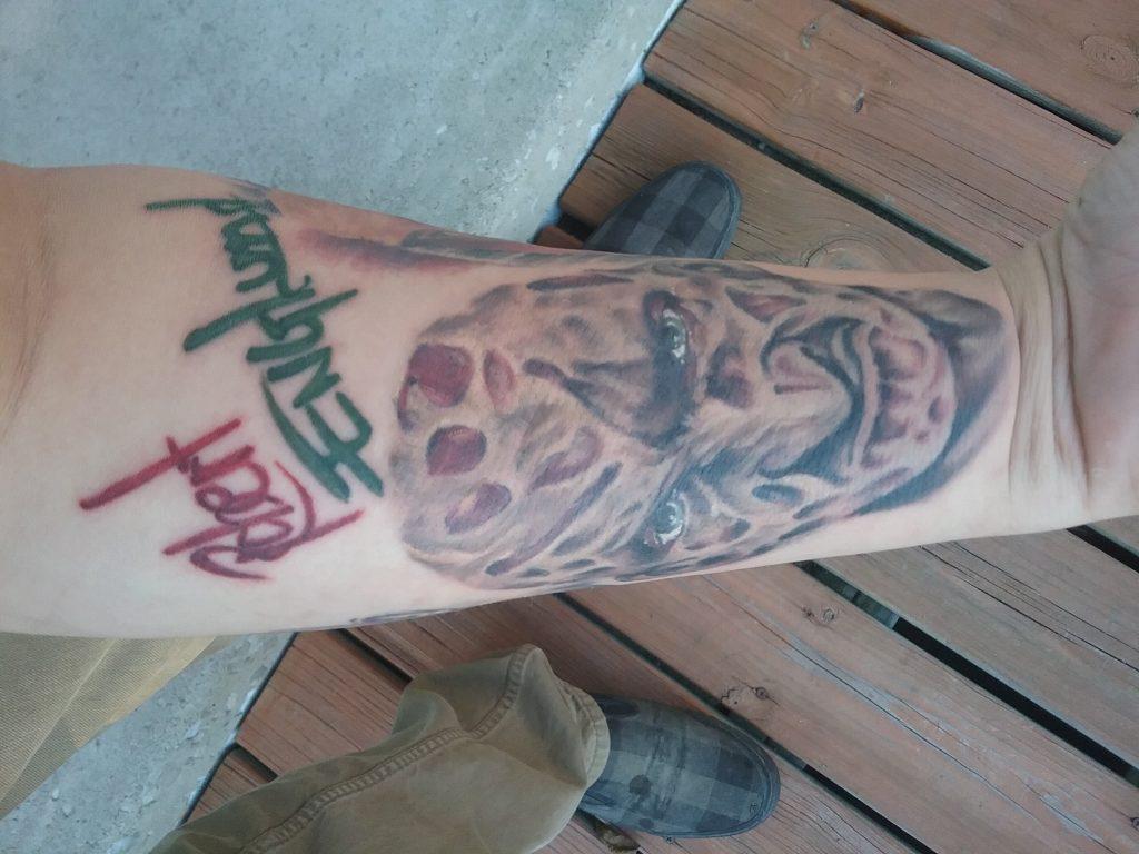 Robert Englund Tattoo Archive 059