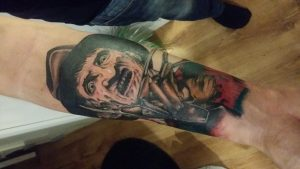 Robert Englund Tattoo Archive 060