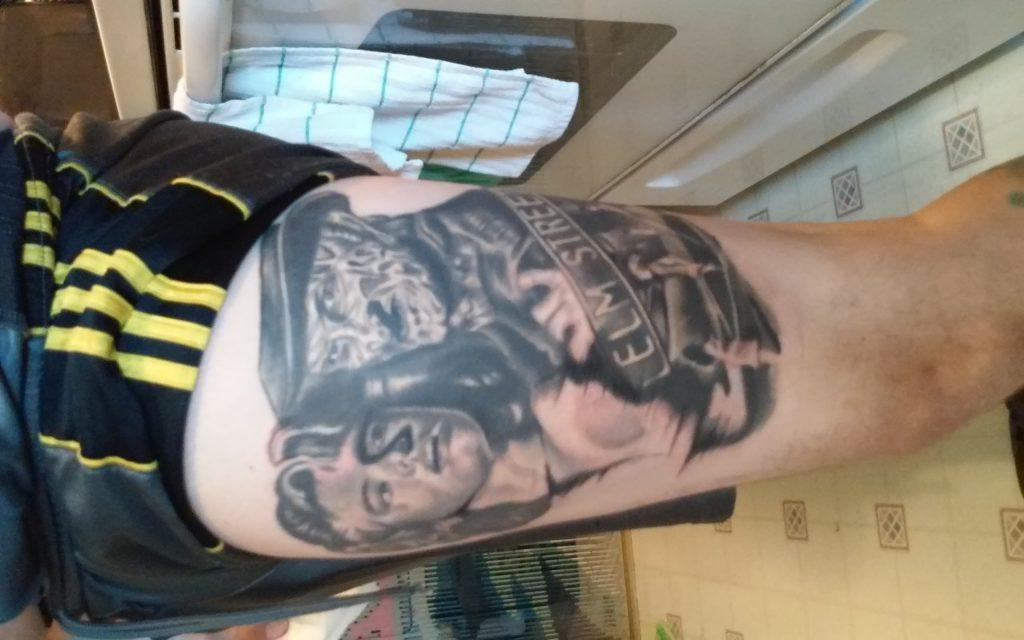 Robert Englund Tattoo Archive 064