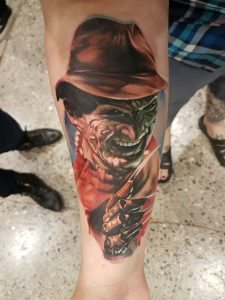 Robert Englund Tattoo Archive 065