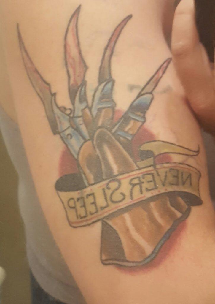 Robert Englund Tattoo Archive 067