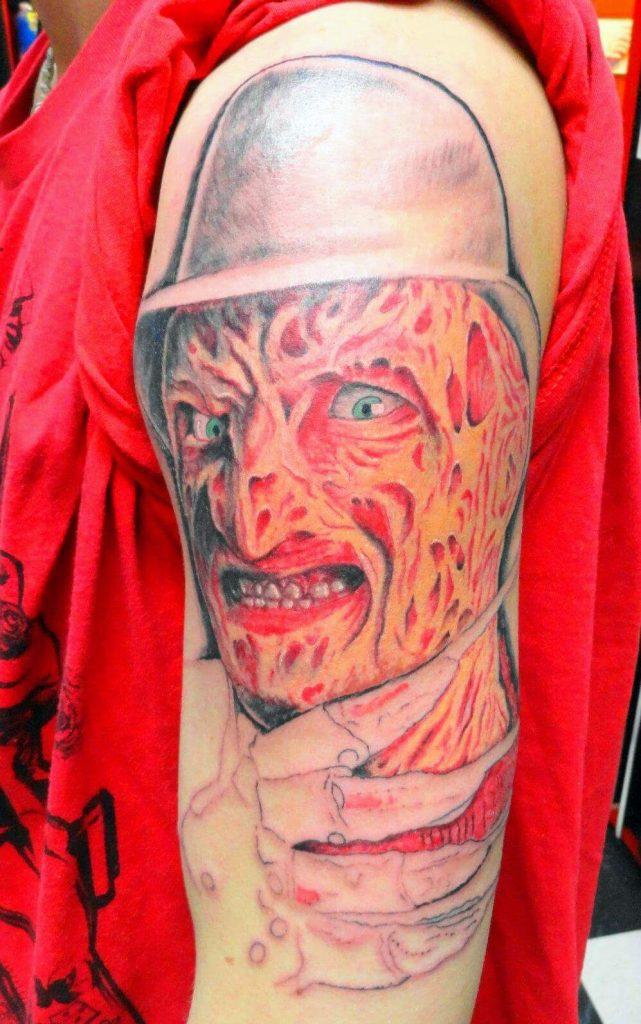 Robert Englund Tattoo Archive 069