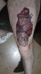 Robert Englund Tattoo Archive 070