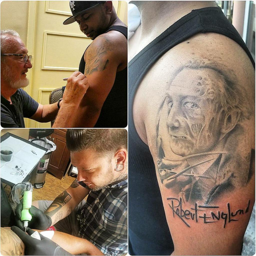 Robert Englund Tattoo Archive 072