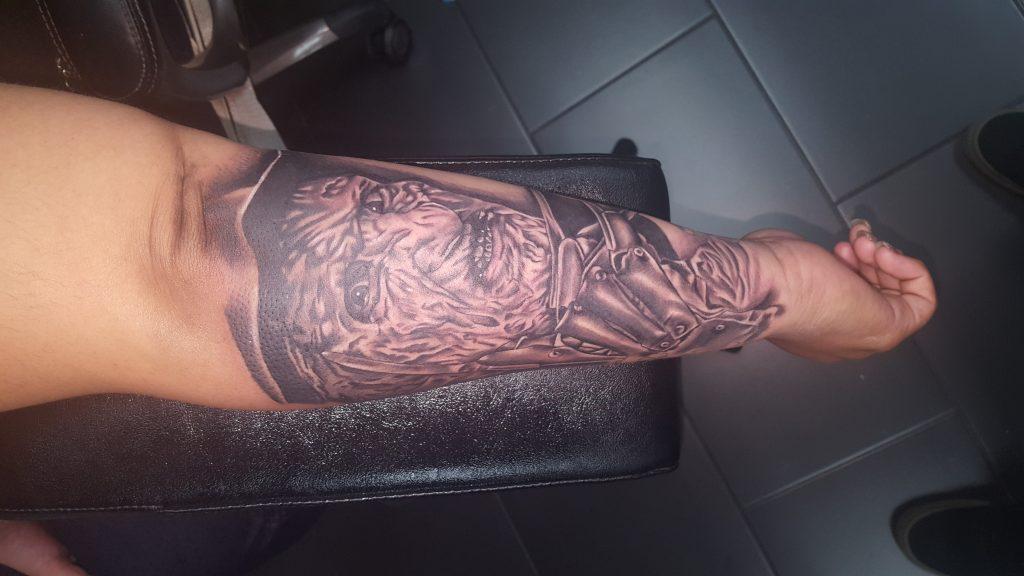 Robert Englund Tattoo Archive 078