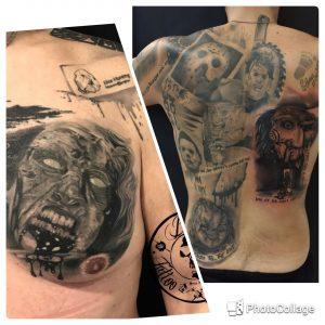 Robert Englund Tattoo Archive 079