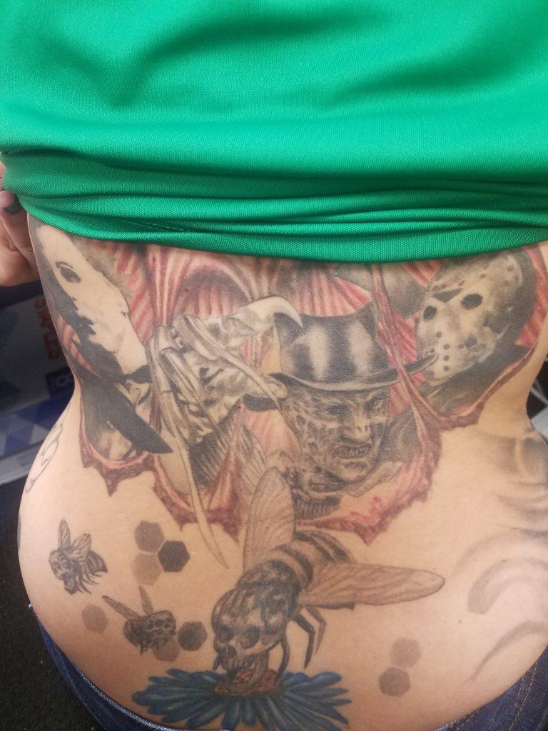 Robert Englund Tattoo Archive 085