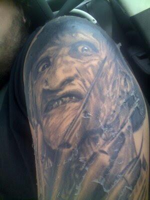 Robert Englund Tattoo Archive 050