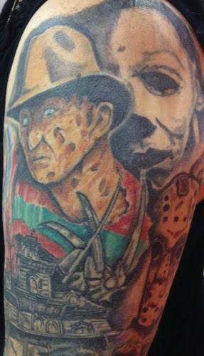Robert Englund Tattoo Archive 044