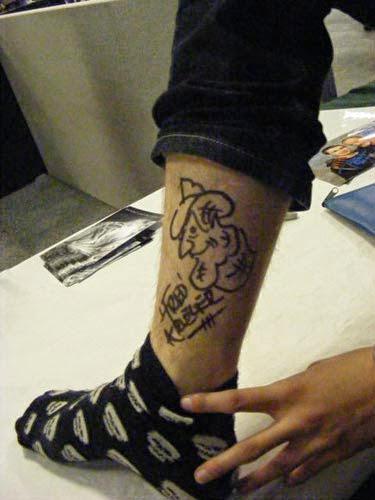 Robert Englund Tattoo Archive 107