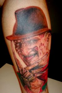 Robert Englund Tattoo Archive 108