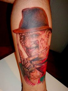 Robert Englund Tattoo Archive 109