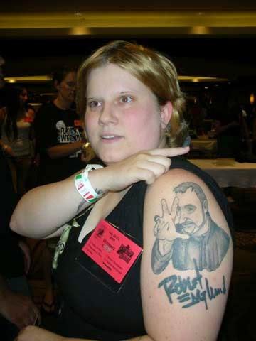 Robert Englund Tattoo Archive 111