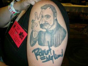 Robert Englund Tattoo Archive 112