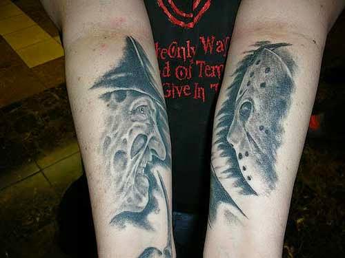 Robert Englund Tattoo Archive 114