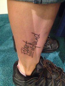 Robert Englund Tattoo Archive 118