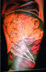Robert Englund Tattoo Archive 123