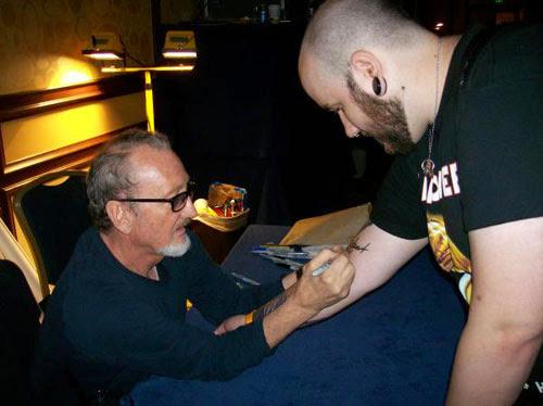 Robert Englund Tattoo Archive 124