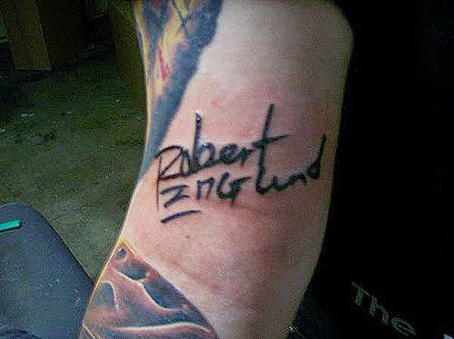 Robert Englund Tattoo Archive 125