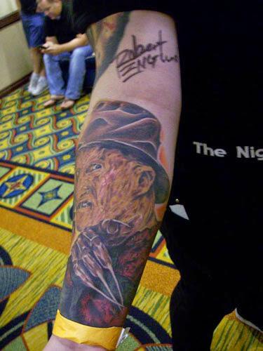 Robert Englund Tattoo Archive 127