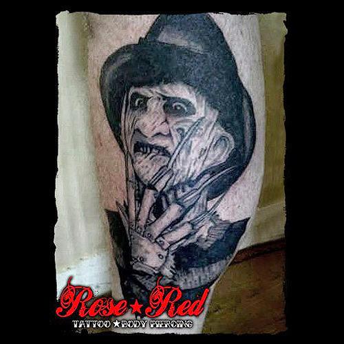 Robert Englund Tattoo Archive 128