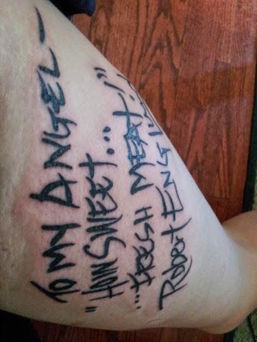 Robert Englund Tattoo Archive 130