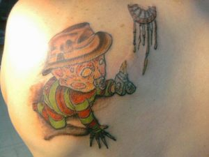Robert Englund Tattoo Archive 132