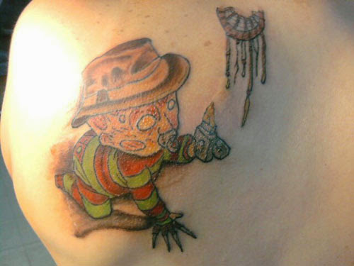 Robert Englund Tattoo Archive 132