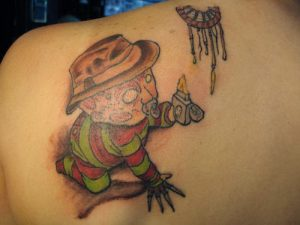 Robert Englund Tattoo Archive 133