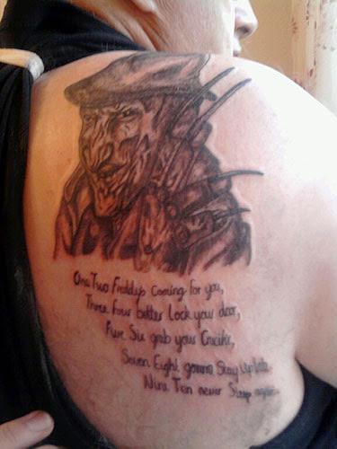 Robert Englund Tattoo Archive 143