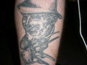 Robert Englund Tattoo Archive 144