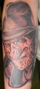 Robert Englund Tattoo Archive 145