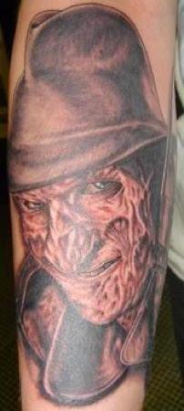 Robert Englund Tattoo Archive 145