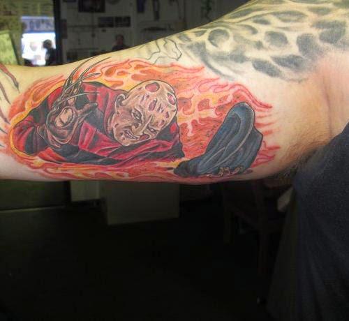 Robert Englund Tattoo Archive 146