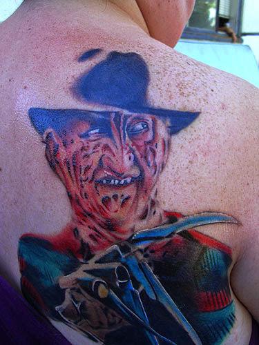 Robert Englund Tattoo Archive 147