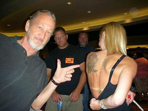 Robert Englund Tattoo Archive 149