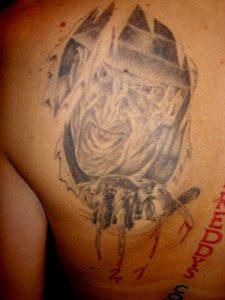 Robert Englund Tattoo Archive 152