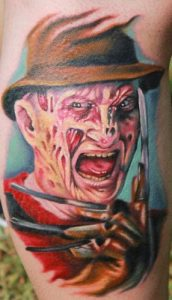 Robert Englund Tattoo Archive 153