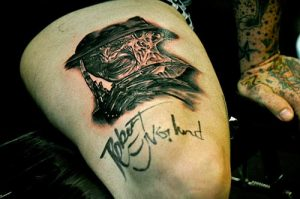 Robert Englund Tattoo Archive 156