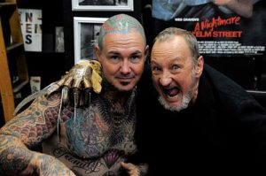 Robert Englund Tattoo Archive 157