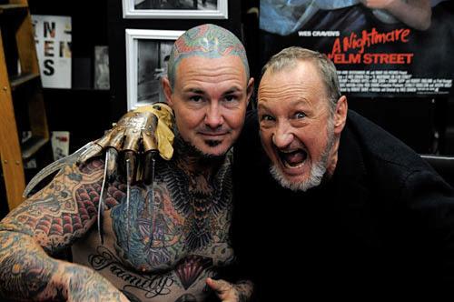 Robert Englund Tattoo Archive 157