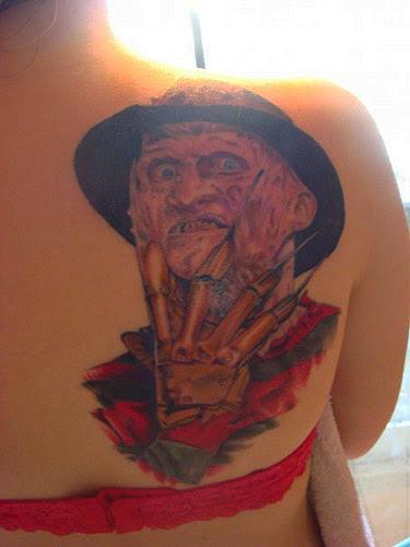 Robert Englund Tattoo Archive 160